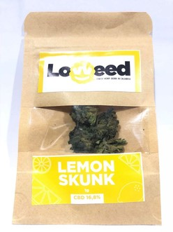 CANNABIS  LOWEED FINEST HEMP-BORN IN CALABRIA 1G