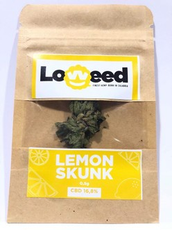 CANNABIS  LOWEED FINEST HEMP-BORN IN CALABRIA 0,5g